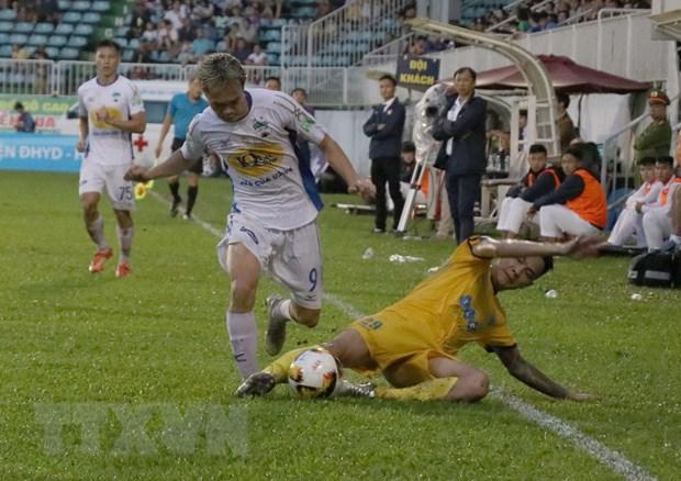Hoang Anh Gia Lai thua dam FLC Thanh Hoa ngay tren san nha hinh anh 1