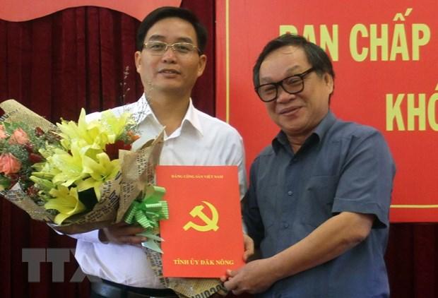 Ong Nguyen Dinh Trung lam Pho Bi thu Tinh uy Dak Nong hinh anh 1