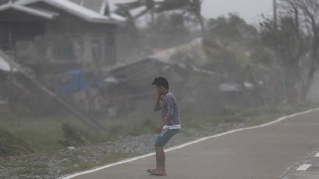 Philippines: So nguoi thiet mang do bao Mangkhut tang manh hinh anh 1