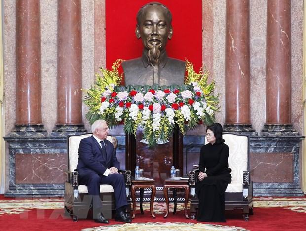 Viet Nam coi trong phat trien quan he huu nghi, hop tac voi Belarus hinh anh 1