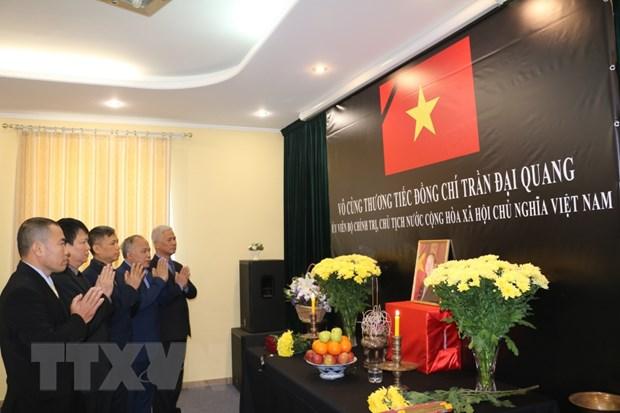 Mo so tang Chu tich nuoc Tran Dai Quang tai Phap, Ukraine va Italy hinh anh 3