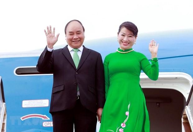 Thu tuong len duong du ASEM 12, P4G va tham chinh thuc 3 nuoc chau Au hinh anh 1