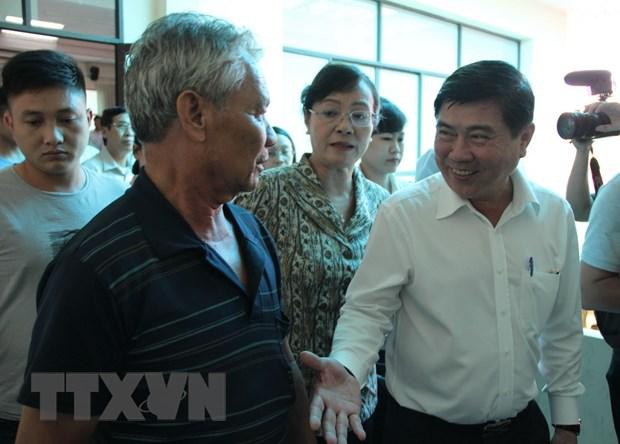 Chu tich UBND Thanh pho Ho Chi Minh: