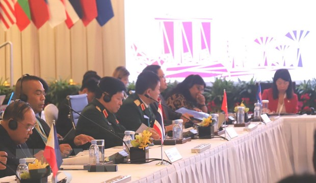 ASEAN tang cuong hop tac chong khung bo va dam bao an ninh bien hinh anh 1