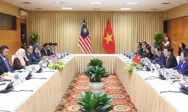 Viet Nam-Malaysia chia se lap truong nhat quan trong van de Bien Dong hinh anh 1