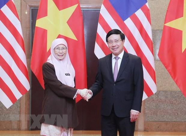 Viet Nam-Malaysia chia se lap truong nhat quan trong van de Bien Dong hinh anh 2