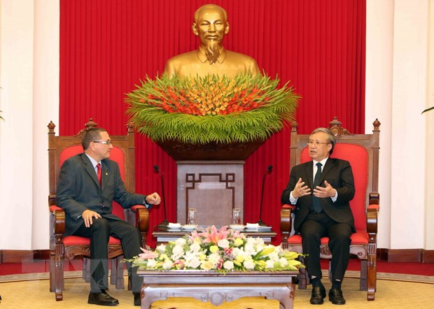 Viet Nam ung ho tien trinh dan chu, hop hien tai Venezuela hinh anh 1