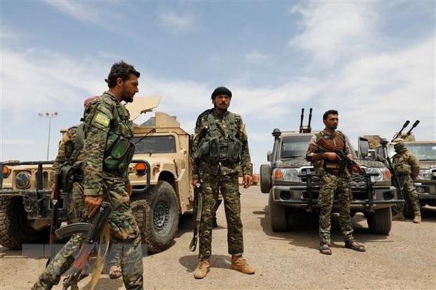 My lo ngai Tho Nhi Ky tan cong phien quan nguoi Kurd o Syria hinh anh 1