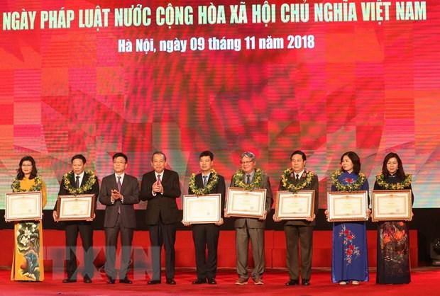 Chu tich Quoc hoi du Le huong ung Ngay Phap luat Viet Nam hinh anh 2