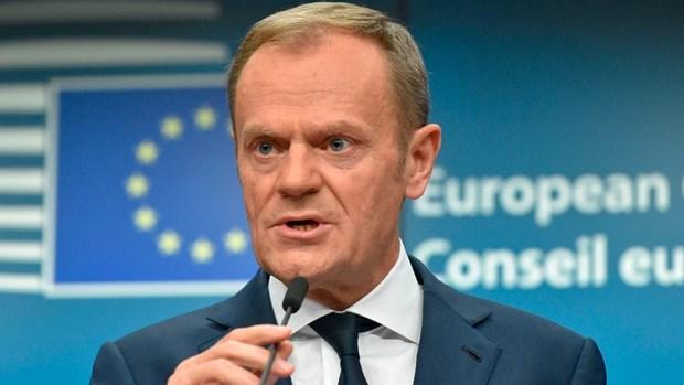 Lanh dao EU chi trich lap truong cua ong Trump doi voi chau Au hinh anh 1