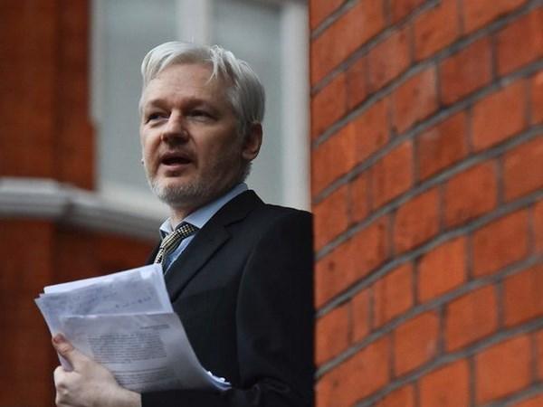 My da chuan bi cao trang cho nha sang lap WikiLeaks Julian Assange hinh anh 1