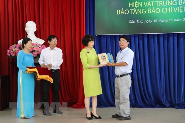 Bao tang Bao chi Viet Nam tiep nhan gan 1.000 hien vat, tu lieu hinh anh 1