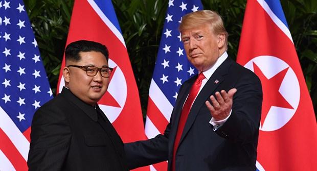 My len ke hoach chuan bi cho cuoc gap thuong dinh Trump-Kim hinh anh 1