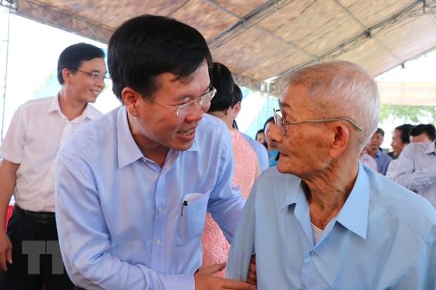 Truong ban Tuyen giao TW du Ngay hoi dai doan ket tai Quang Ngai hinh anh 1