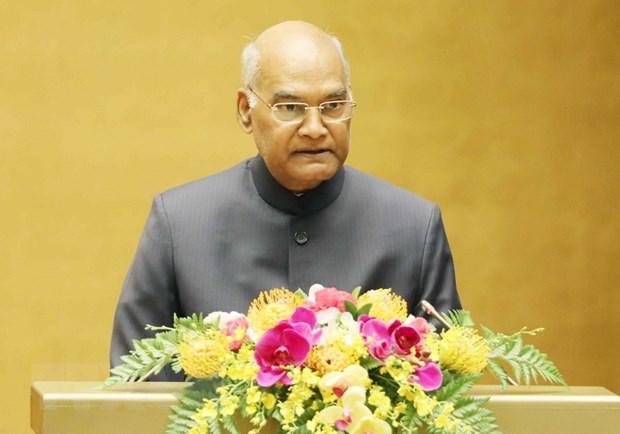 Tong thong An Do Ram Nath Kovind phat bieu truoc Quoc hoi Viet Nam hinh anh 1