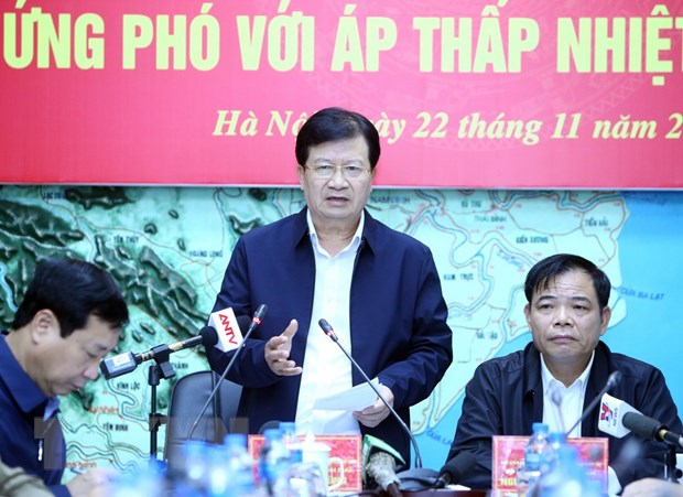 Ra soat phuong an ung pho voi ap thap nhiet doi co the manh thanh bao hinh anh 1