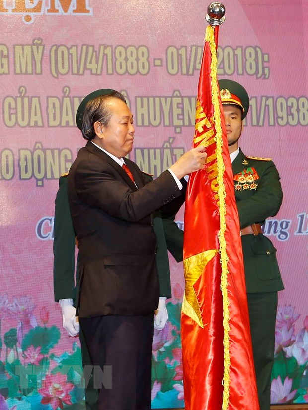 Huyen Chuong My don nhan Huan chuong Lao dong hang nhat hinh anh 2
