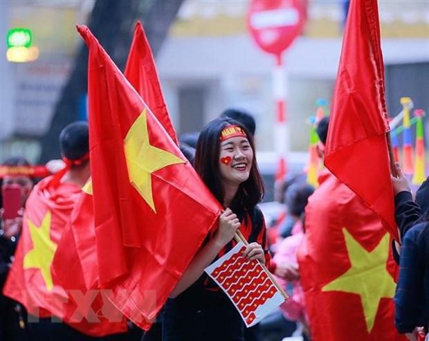 Co dong vien ham nong san Hang Day truoc tran gap Campuchia hinh anh 1