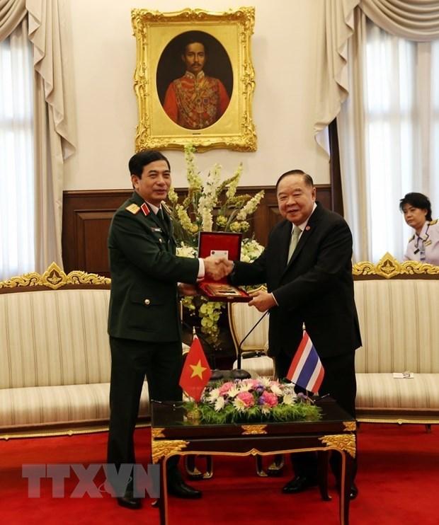 Viet Nam va Thai Lan thuc day hop tac quan su, quoc phong hinh anh 2