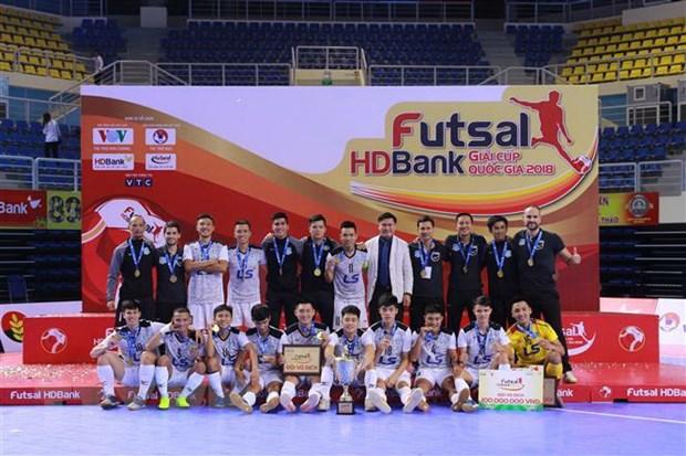 Thai Son Nam vo dich giai Futsal HDBank Cup quoc gia 2018 hinh anh 1