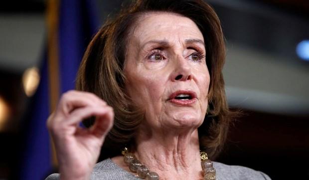 My: Dang Dan chu de cu ba Nancy Pelosi lam Chu tich Ha vien hinh anh 1
