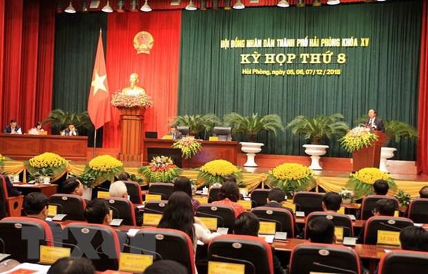 Ky hop thu 8 HDND thanh pho Hai Phong: Danh 50% thoi gian de chat van hinh anh 1