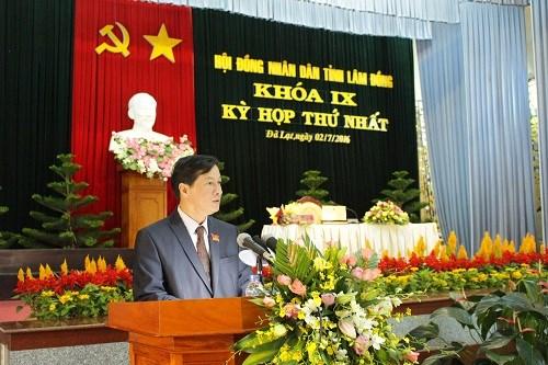 Lam Dong lay phieu tin nhiem doi voi 28 chuc danh do HDND tinh bau hinh anh 1