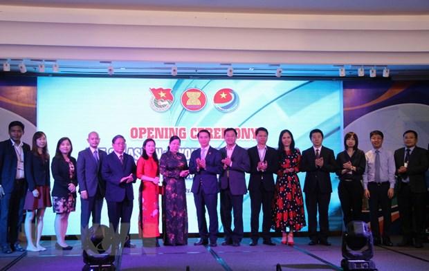 Khai mac Dien dan Doanh nhan tre ASEAN+3 tai Thanh pho Ho Chi Minh hinh anh 1