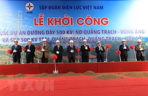 Pho Thu tuong phat lenh khoi cong duong day 500 kV mach 3 hinh anh 1
