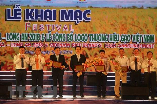 Hon 1.100 gian hang tai Festival lua gao Viet Nam o Long An hinh anh 2