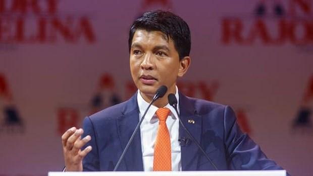 Bau cu Tong thong Madagascar: Ong Andry Rajoelina chiem uu the hinh anh 1