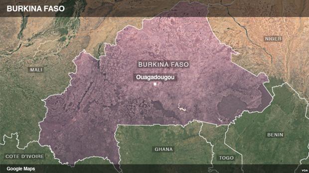 Tan cong tai Burkina Faso, it nhat 10 canh sat thiet mang hinh anh 1