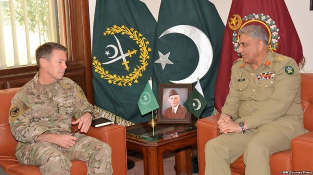 Tuong My va Pakistan thao luan ve hoa binh tai Afghanistan hinh anh 1