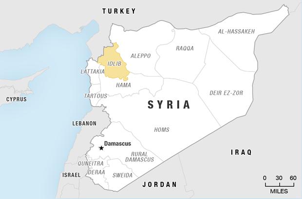 Dung do o mien Bac Syria khien it nhat 19 nguoi thiet mang hinh anh 1