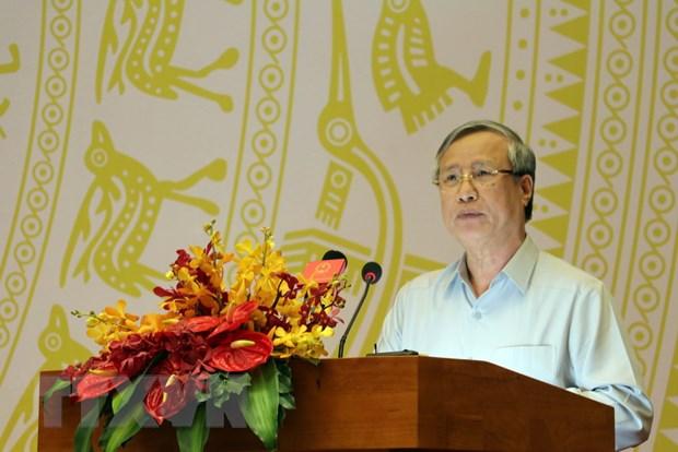 Khai mac Hoi nghi Uy ban Trung uong Mat tran To quoc Viet Nam lan 9 hinh anh 2
