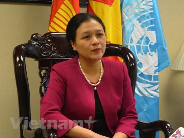 Ba Nguyen Phuong Nga lam Chu tich Lien hiep cac to chuc huu nghi hinh anh 1