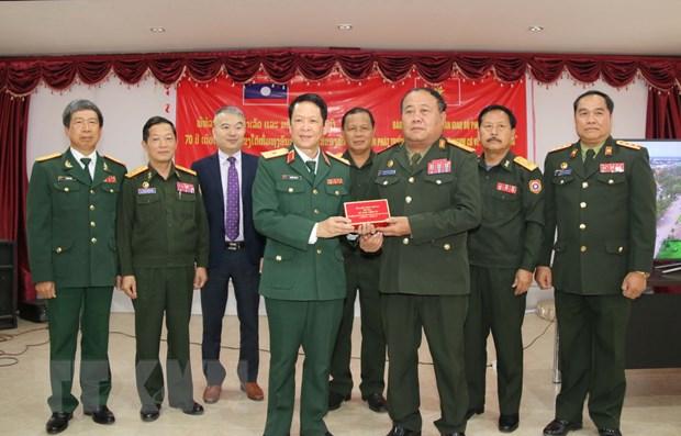 Viet Nam giup Lao lam phim ve lich su Quan doi nhan dan Lao hinh anh 1
