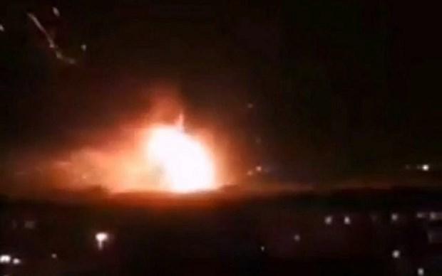 Syria gui thu toi Lien hop quoc sau cuoc khong kich cua Israel hinh anh 1
