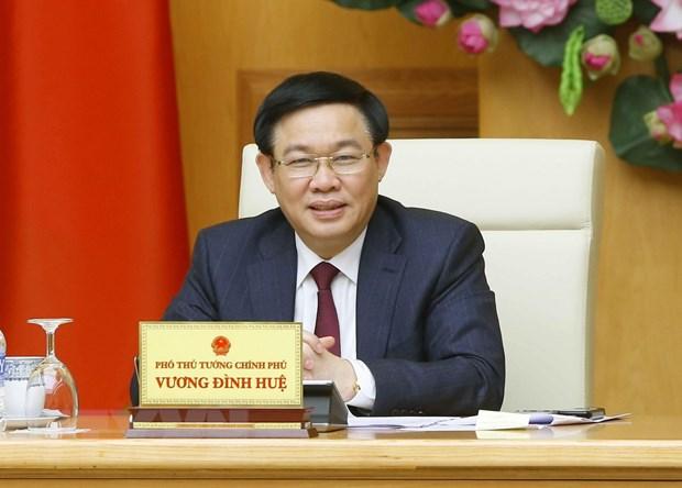 Pho Thu tuong Vuong Dinh Hue: Kiem soat chi so lam phat tu 3,3-3,9% hinh anh 1