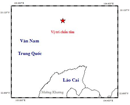 Xuat hien mot tran dong dat gan bien gioi Viet Nam-Trung Quoc hinh anh 1