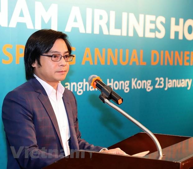 Vietnam Airlines tai Hong Kong cam ket hop tac hieu qua voi doi tac hinh anh 1