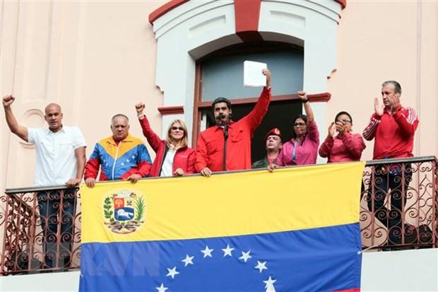 Tong thong Venezuela Maduro san sang doi thoai voi thu linh doi lap hinh anh 1