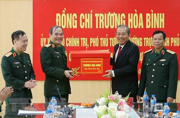 Pho Thu tuong chuc Tet can bo, chien sy nganh toa an, dieu tra hinh su hinh anh 1