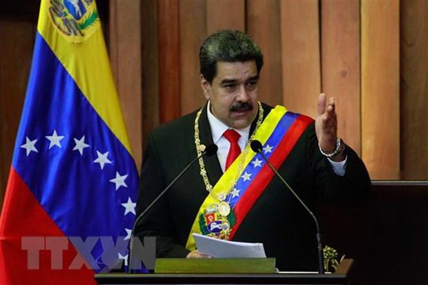 Tong thong Venezuela tuyen bo san sang dam phan voi phe doi lap hinh anh 1