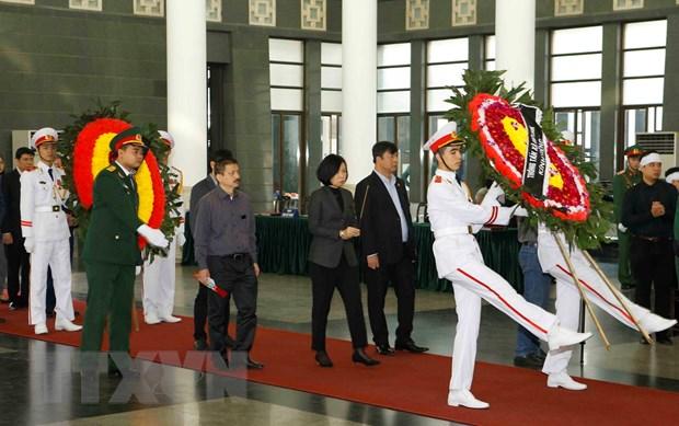 To chuc le tang dong chi Nguyen Duc Binh theo nghi thuc cap Nha nuoc hinh anh 2