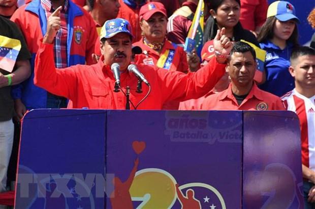Venezuela cong bo bang chung ve am muu dao chinh, lat do chinh quyen hinh anh 1