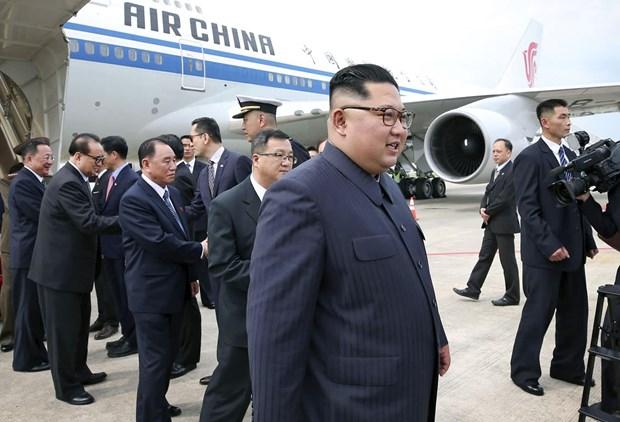 Bao Han Quoc phong doan ve phuong tien di chuyen cua ong Kim Jong un hinh anh 1