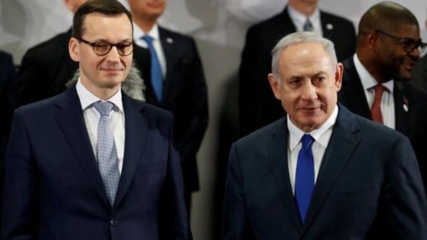 Ba Lan co the khong tham du hoi nghi Nhom Visegrad tai Israel hinh anh 1