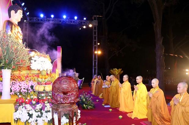 Hai Duong: Le Lien Hoa Hoi Thuong nguyen cau quoc thai dan an hinh anh 1