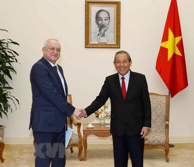 Pho Thu tuong: Viet Nam coi trong cong tac phong chong tham nhung hinh anh 1